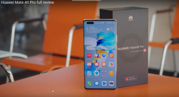 Huawei Mate 40 Pro Review by GSMArena